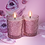 Thumbnail: DRIADA vidro lounge rosa + acrílico PARIS