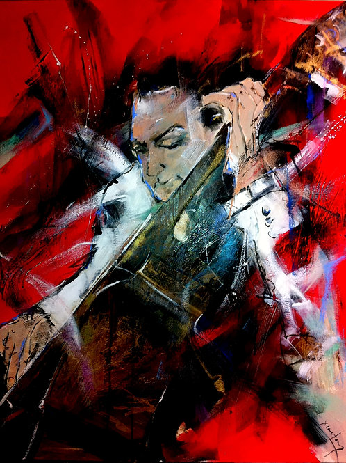 "OBRA ORIGINAL JAZZ BY XICOFRAN ""SARAH VAUGHAN"""