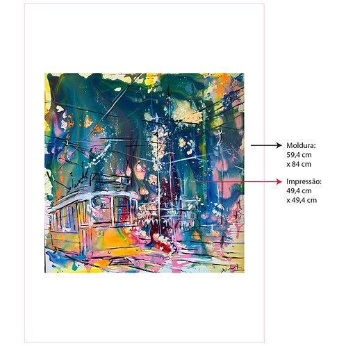 Digigrafia Explosão de cores em lisboa II