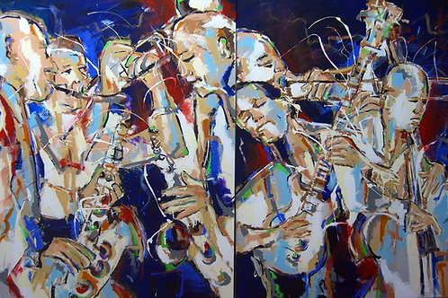"OBRA ORIGINAL JAZZ BY XICOFRAN ""NOITE DE JAZZ"""