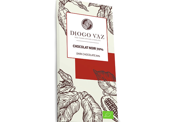 Tablete de chocolate negro 70% BIO