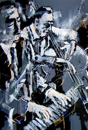 -Bud Powell,Cecil Mcbee-1,00x1,50m-2011.