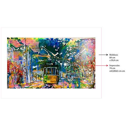 Digigrafia Explosão de cores em Lisboa