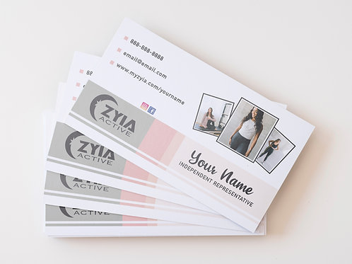 Zyia Business Card - Photo Collage