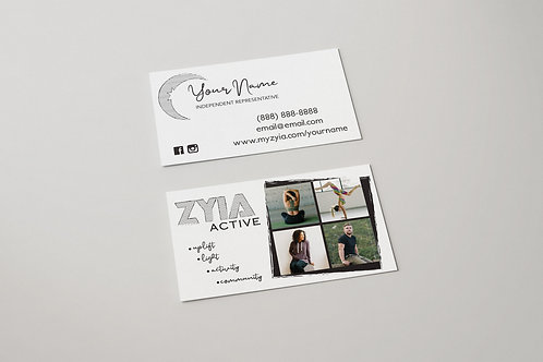 Zyia Business Card - Striped