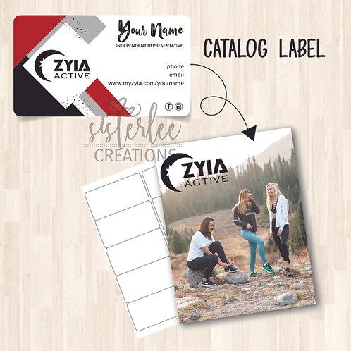 Zyia Active Catalog Label #45