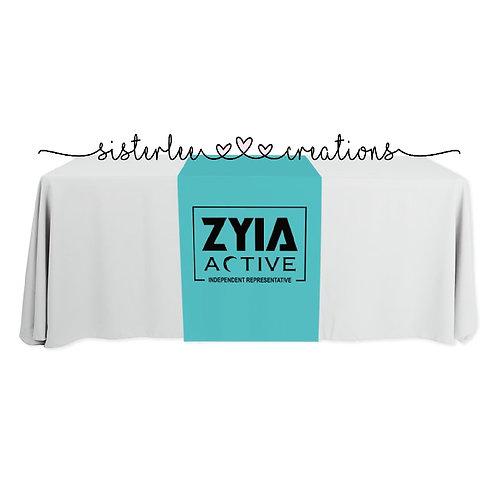 Zyia Active Table Runner (Aqua)