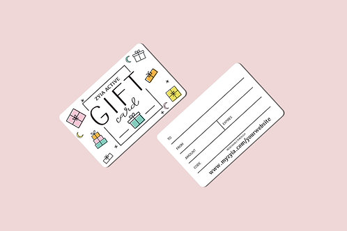 Zyia Gift Card - 25 Pack