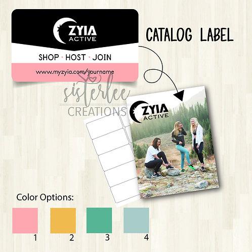 Zyia Active Catalog Label #20