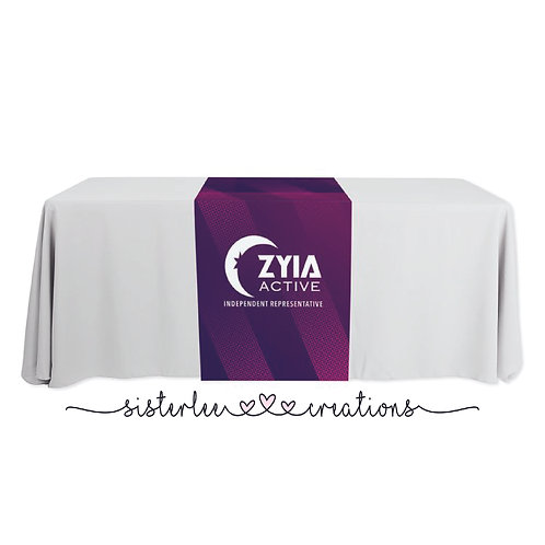 Zyia Active Table Runner (Purple+Pink)