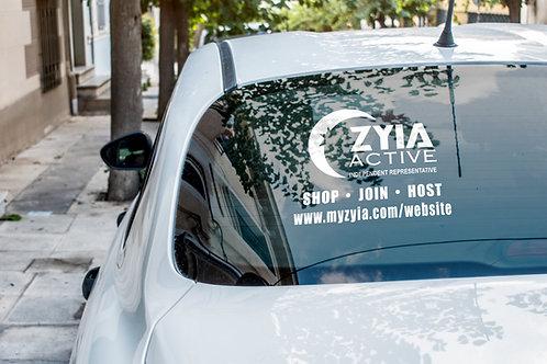 Zyia Active SHOP | HOST | JOIN Vinyl Decal