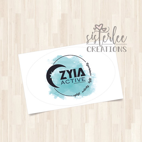 Zyia Active Rep Stickers