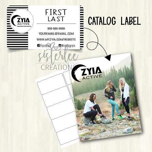 Zyia Active Catalog Label #5