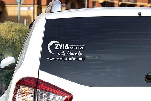 Zyia Active Independent Rep Vinyl Decal