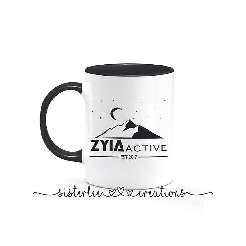 Zyia Active Mug - Mountains + Stars