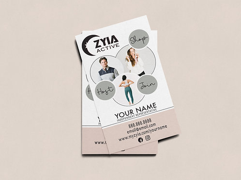 Zyia Business Card - Neutrals