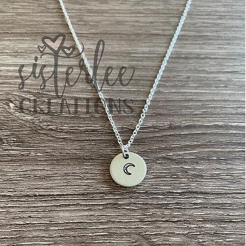 Zyia Moon Pendant Necklace