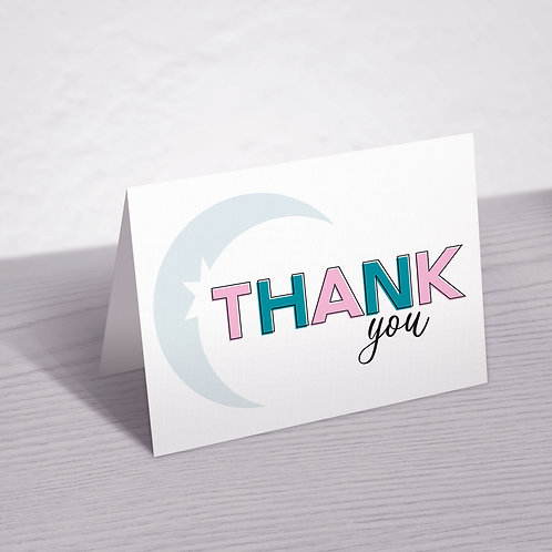 Zyia Active Customer Thank You Card