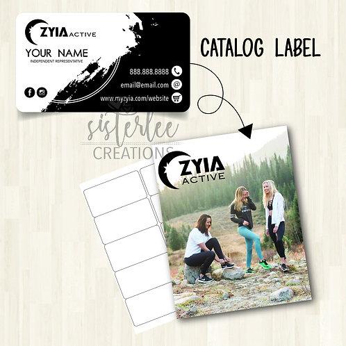 Zyia Active Catalog Label #22