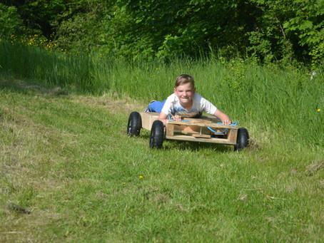 Outdoor activities for self isolating kids