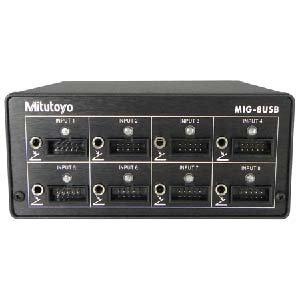 Mitutoyo Multiplexer MIG-8USB, V6.0 W/D2, 8 Input