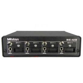 Mitutoyo Multiplexer MIG-4USB, V6.0 W/D2, 4 Input