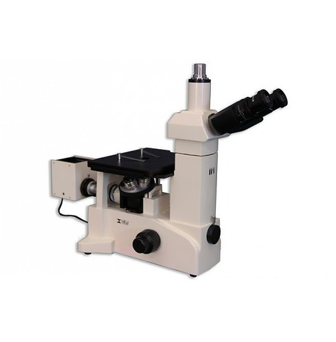 Meiji IM7530 Trinocular Inverted Brightfield/Darkfield Metallurgical Microscope