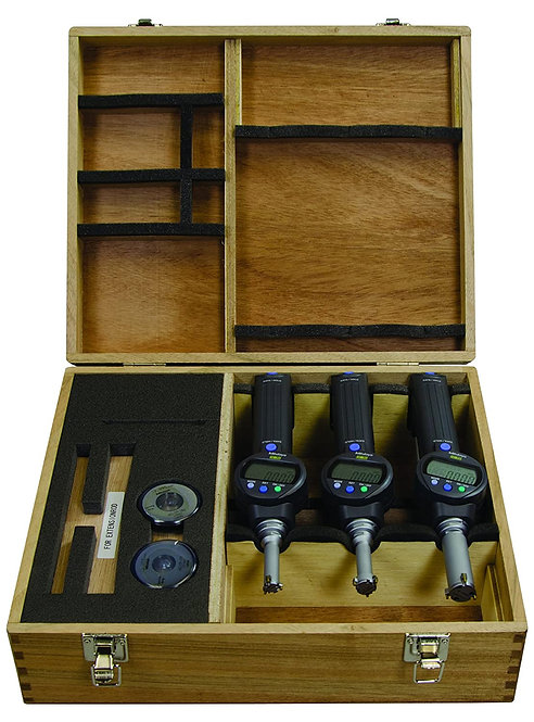 "Mitutoyo 568-965 Borematic LCD Bore Gauge Complete Unit Set, 0.275-0.5""/6.985"