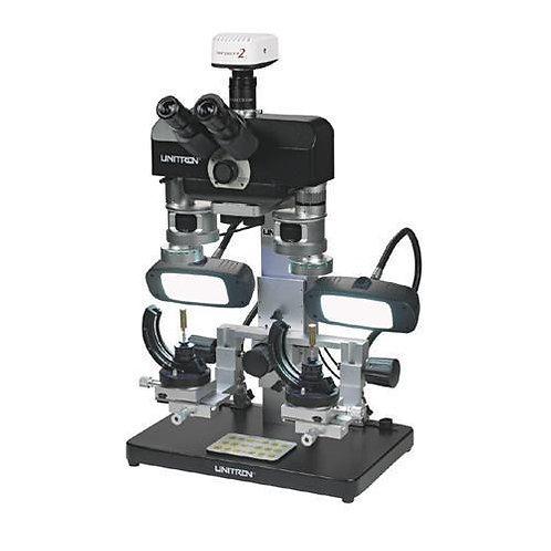 Unitron Comparison Forensic Macroscope with Fluorescent Goosenecks