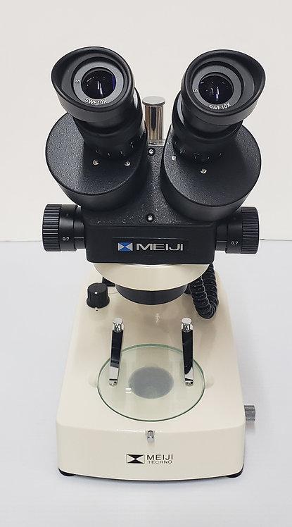 Meiji Techno EMZ-5D + MA502 + BD-LED (7X - 45X)