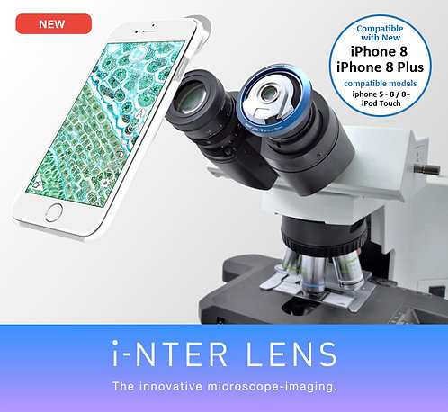 i-NTER LENS Microscope Adapter for iPhone