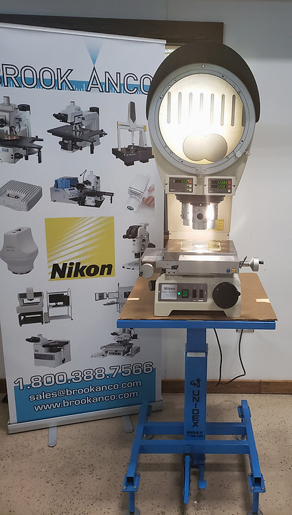 Nikon V-12BDC Profile Projector (Built in X-Y-  DRO) Built in Digital Protractor