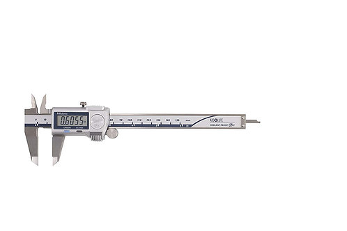 "Mitutoyo 500-762-20 Caliper, Digimatic, 0-6"", IP67, 0005"" 0/01 mm with SPC"