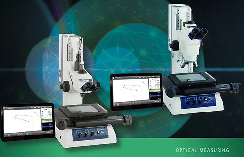 Mitutoyo MF Measuring Microscope with Metlogix M2 Software and Touch Screen