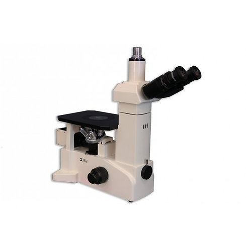Meiji IM7200 Trinocular Inverted Brightfield Metallurgical Microscope