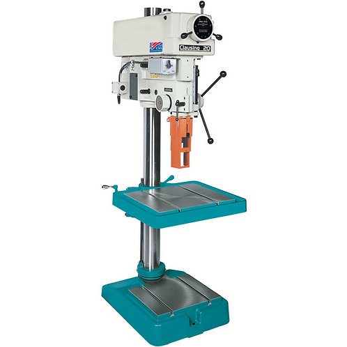 "Clausing Atlas 2272 20"" Floor Drill 300-2000 RPM Vari-SPD 1PH 115V"
