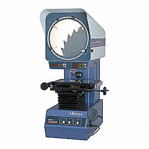 "Mitutoyo PJ-A3000 Vertical Profile Projector 8"" x 4"" Travel"