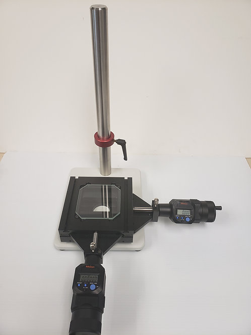 "Compact Reflected Light Stand with 2x2"" Measuring Stage"