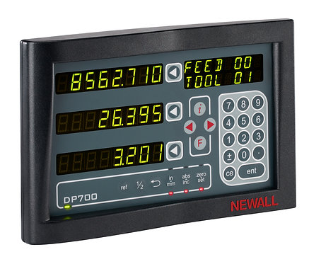 Newall DP700 2 Axis Display