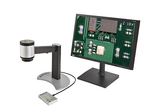 Inspectis C12 HD All-in-One Digital Microscope w/SD-Card Capture