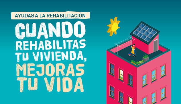 Subvenciones de eficiencia energética y rehabilitación de edificios