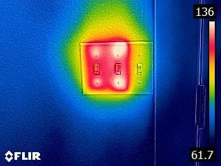 Termografía para detectar problemas en la ELECTRICIDAD