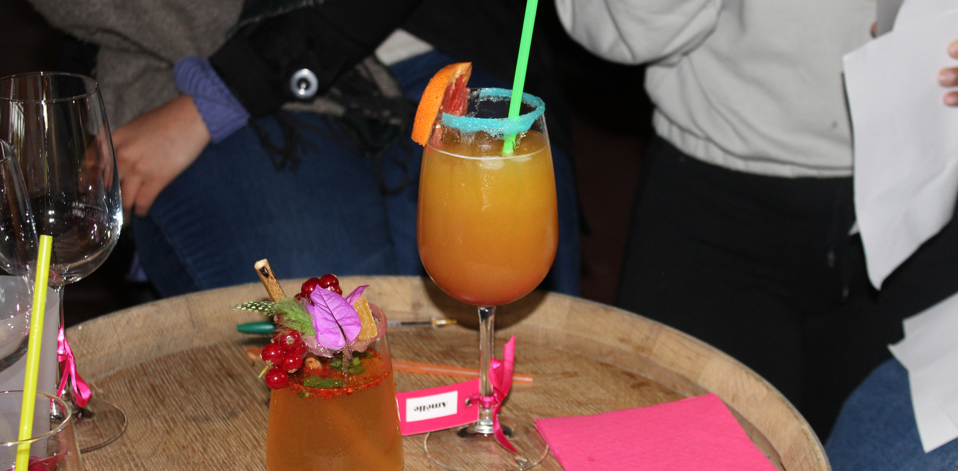 Atelier création de cocktails