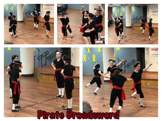 Pirate Broadsword