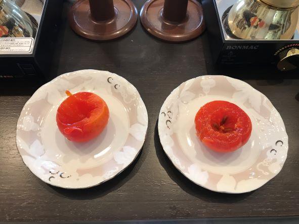 やわらかい柿