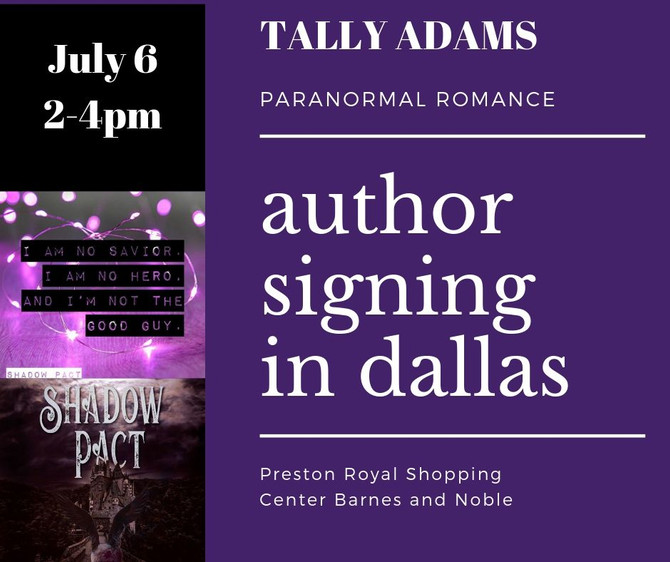 Dallas Paranormal Author Signing