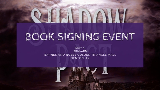 Book Signing May 4th!