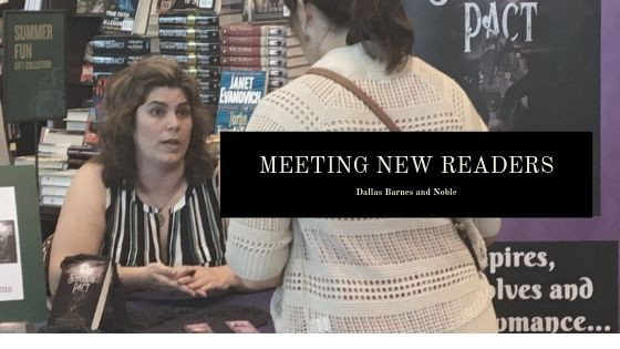 Signing at Dallas Barnes and Noble
