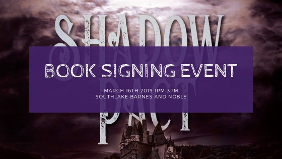 Signing Event Coming Up!