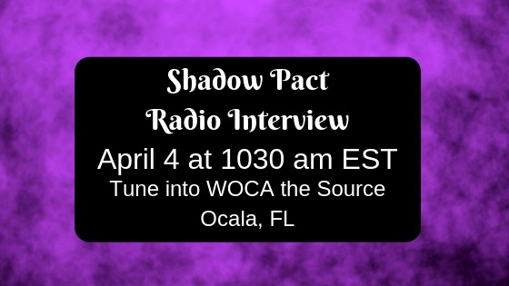 Shadow Pact On the Radio!
